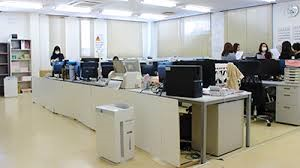 空気が循環するオフィス環境